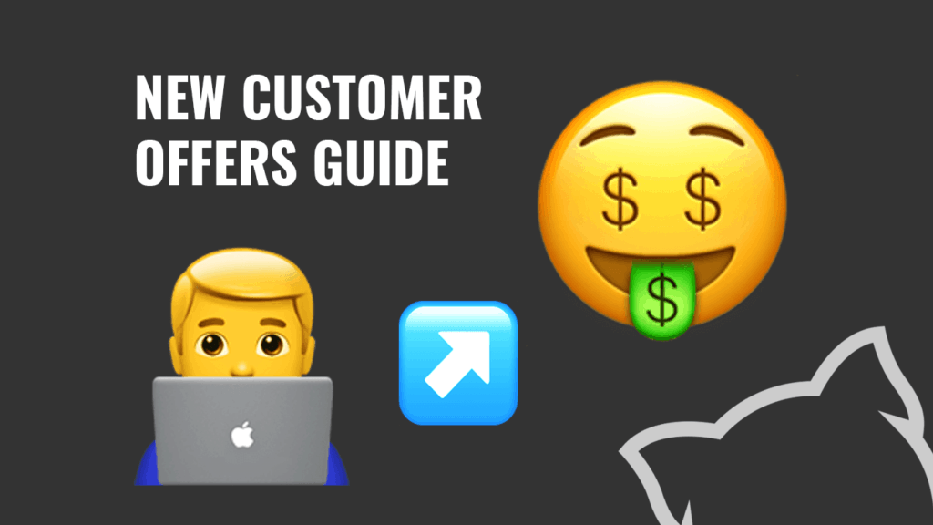 New Customer Offers Guide